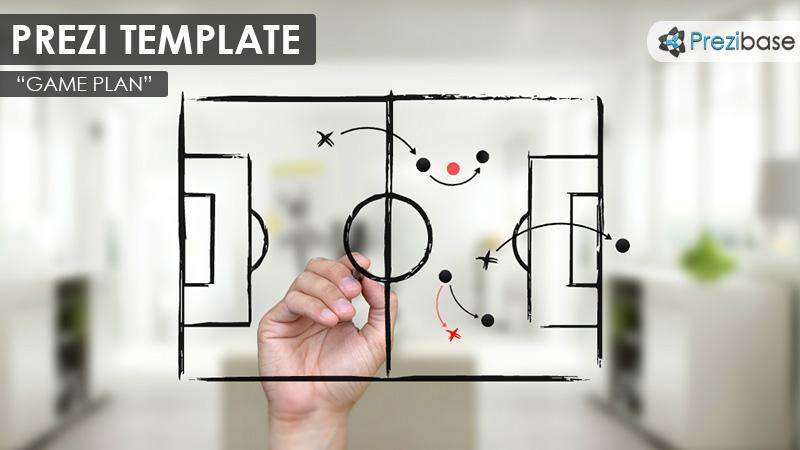 game plan prezi presentation template creatoz collection