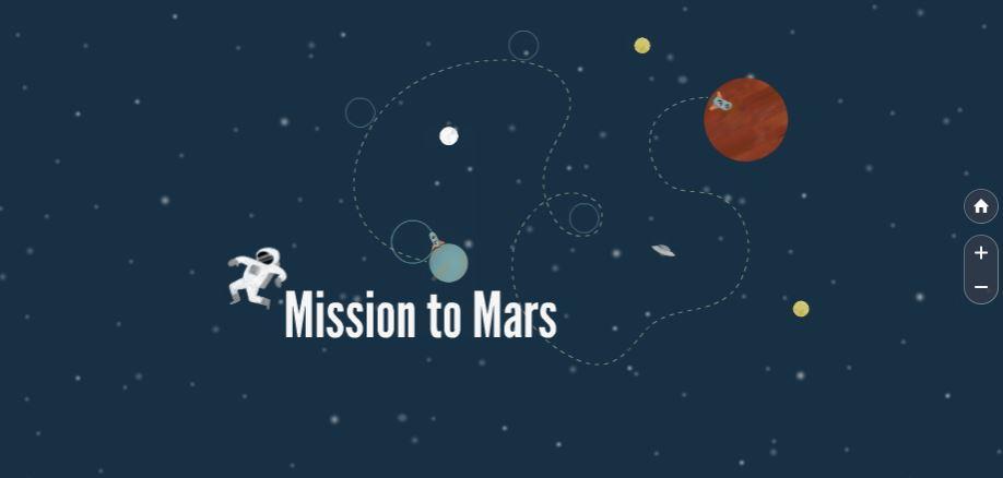 Mission To Mars Free Prezi Presentation Template | | Creatoz