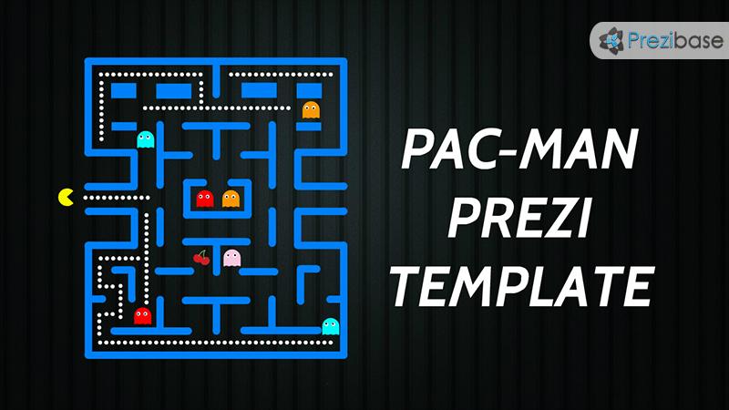 Pac Man Prezi Presentation Template Creatoz Collection