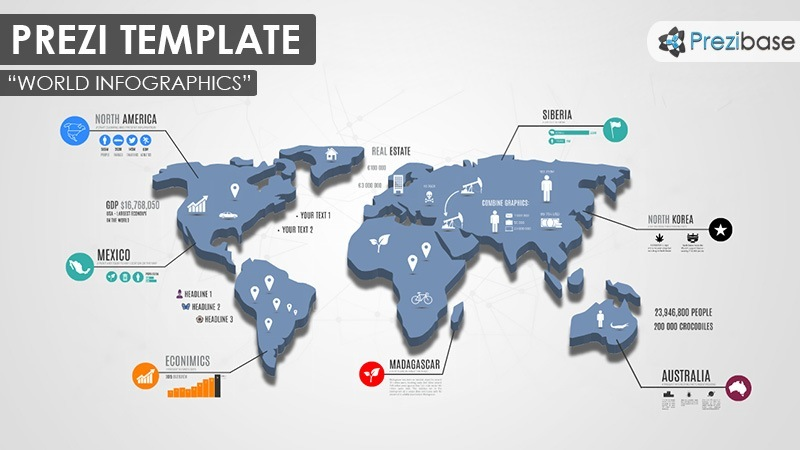 World infographics prezi presentation template creatoz collection world infographics prezi presentation template accmission Image collections