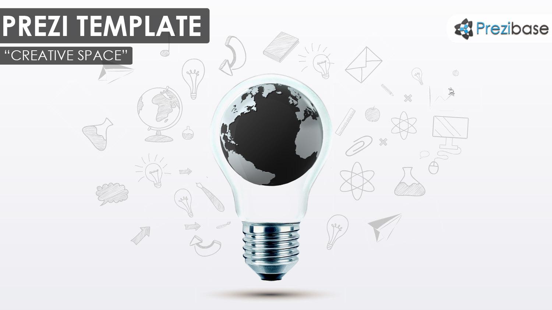 Creative Space – Prezi Presentation Template | | Creatoz collection
