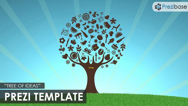 Tree of Ideas – Prezi Presentation Template | | Creatoz collection