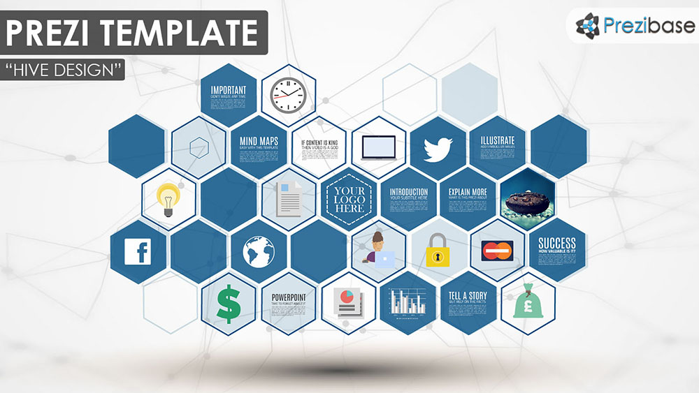 hive design prezi presentation template creatoz collection