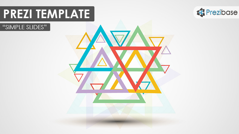 simple slides prezi presentation template