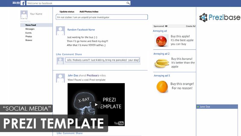 Social Media – Prezi Presentation Template | | Creatoz collection