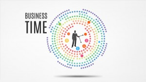 Business time Prezi Presentation Template