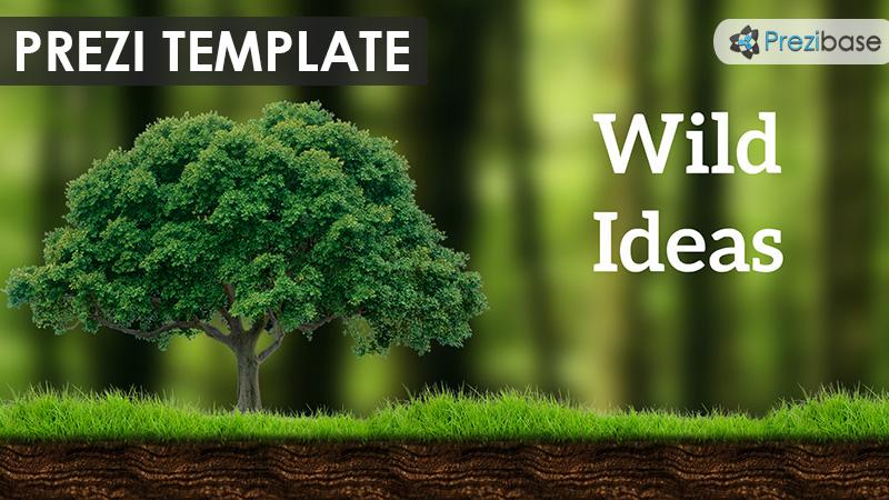 wild ideas prezi presentation template creatoz collection