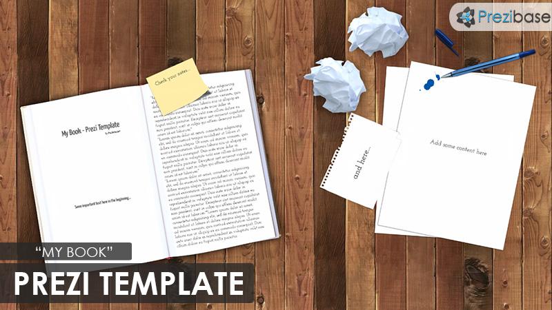 my book prezi presentation template creatoz collection