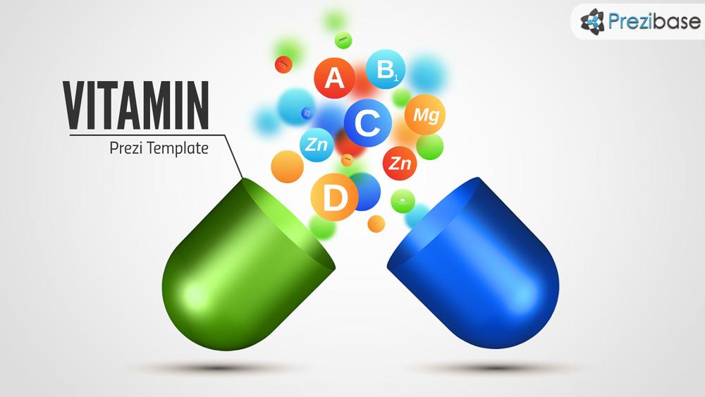 Vitamin prezi presentation template creatoz collection vitamin prezi presentation template toneelgroepblik Images