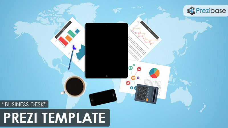 Business desk prezi presentation template creatoz collection business desk prezi presentation template cheaphphosting Images