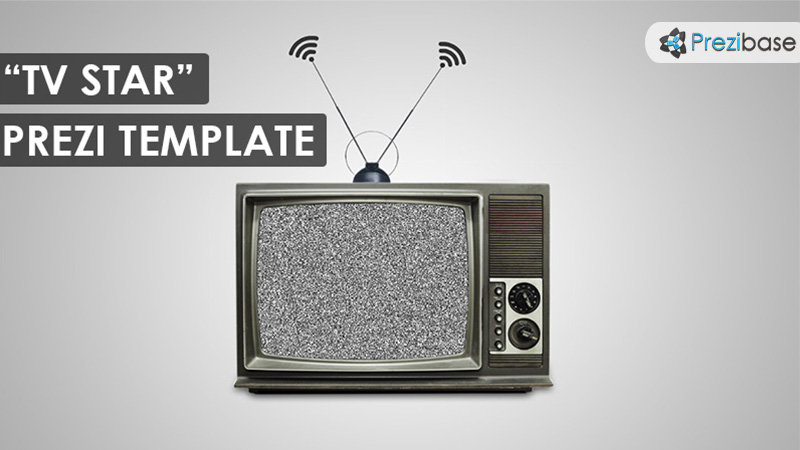 tv star prezi presentation template creatoz collection