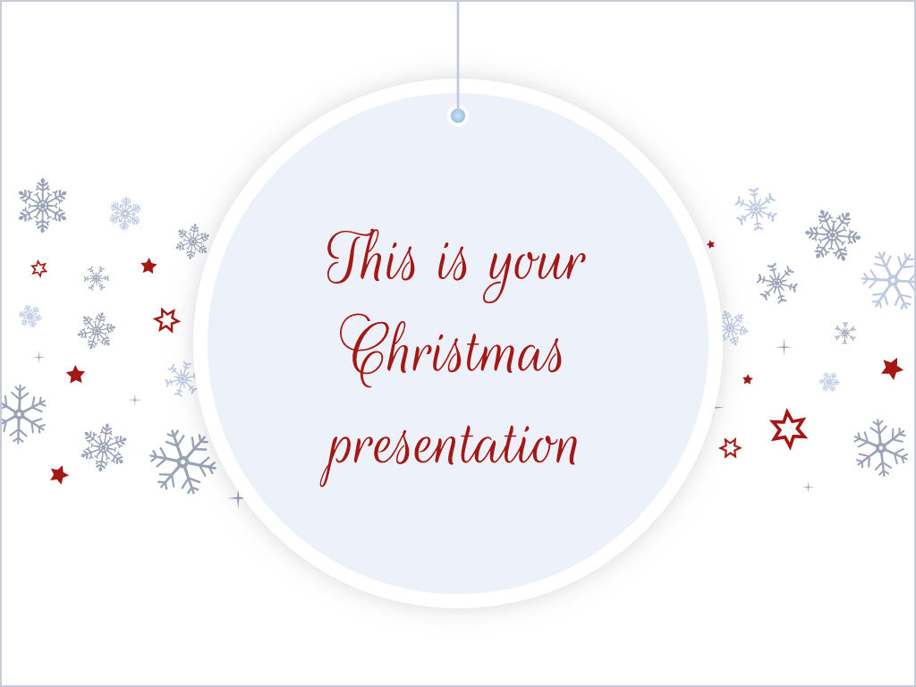 Free christmas powerpoint template and google slides theme with free christmas powerpoint template and google slides theme with elegant design toneelgroepblik Gallery