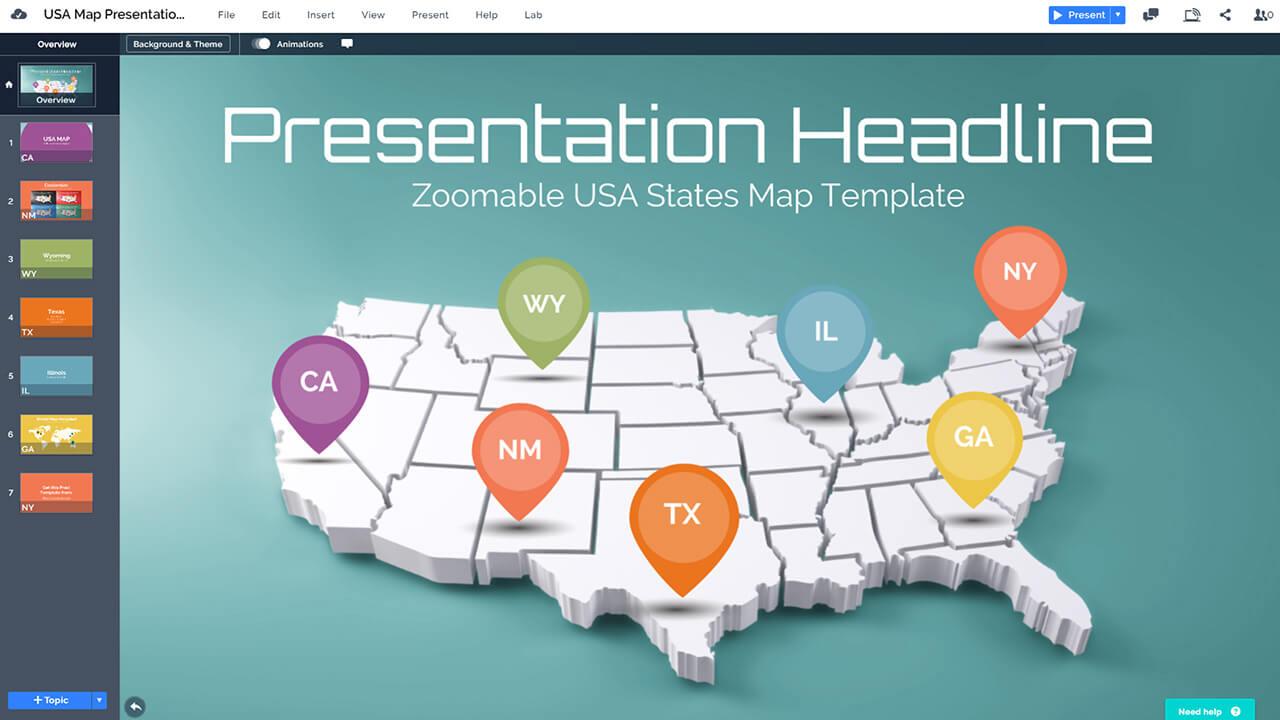 3d-масштабируемая-США-карта очерченного-государства-Prezi-презентация-шаблон