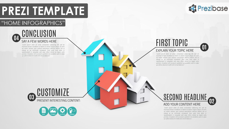 house infographics  u2013 prezi presentation template