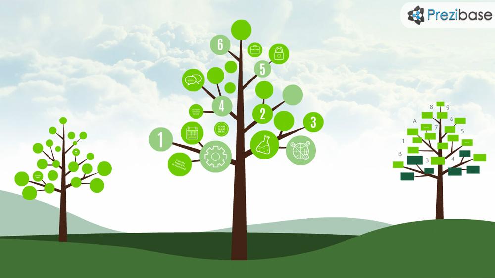 Tree diagram prezi presentation template creatoz collection tree diagram prezi presentation template ccuart Images