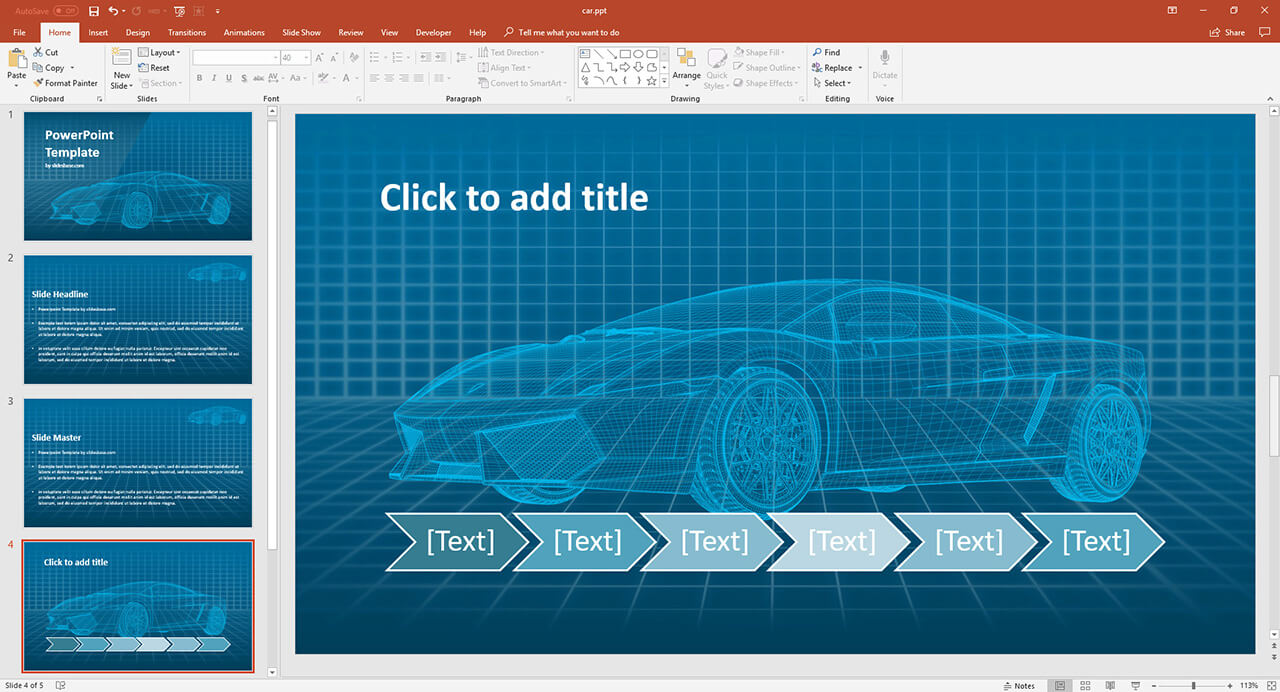 futuristic-car-technology-self-dricing-cars-electric-car-powerpoint-template-ppt-presentation
