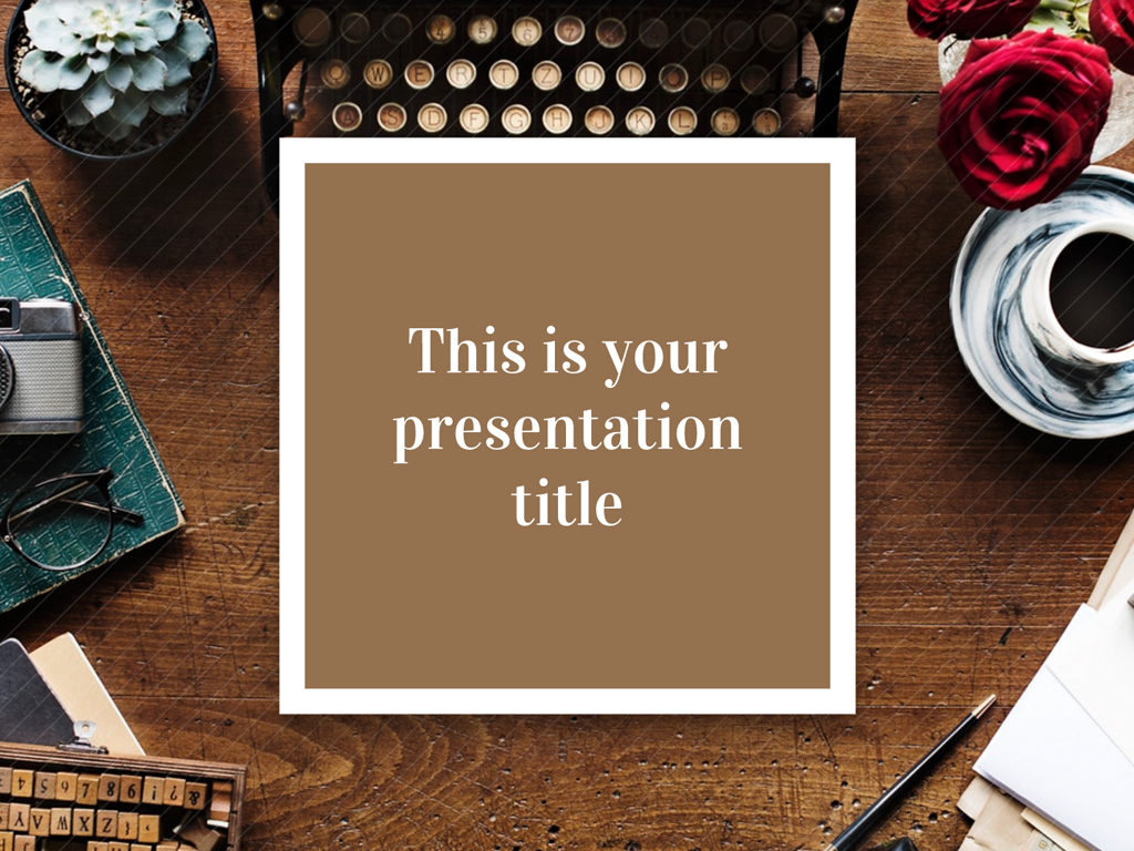 Free Elegant And Classy Powerpoint Template And Google Slides Theme