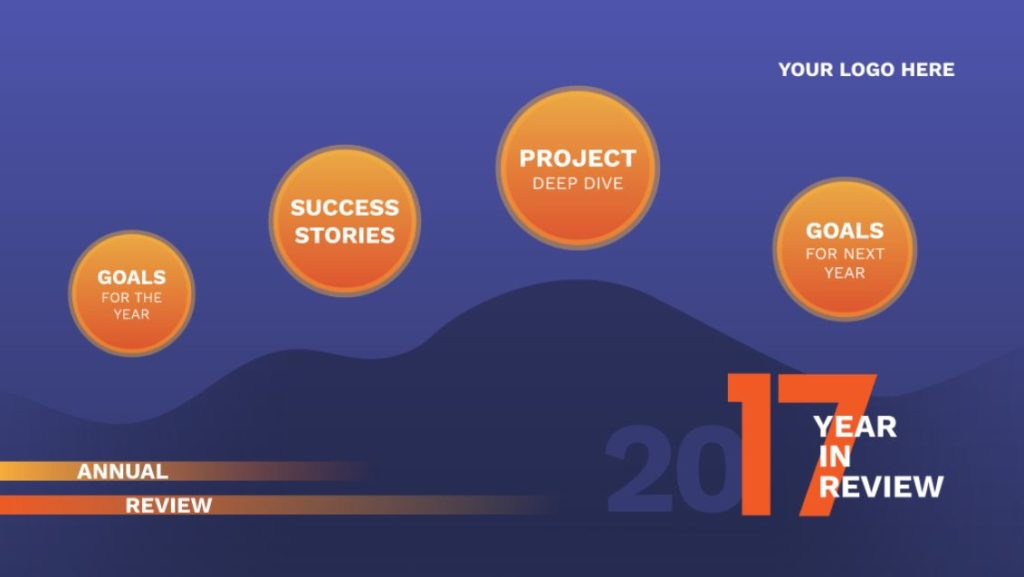 Annual Review Free Prezi Next Template Creatoz Collection