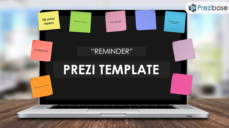reminder  u2013 prezi presentation template