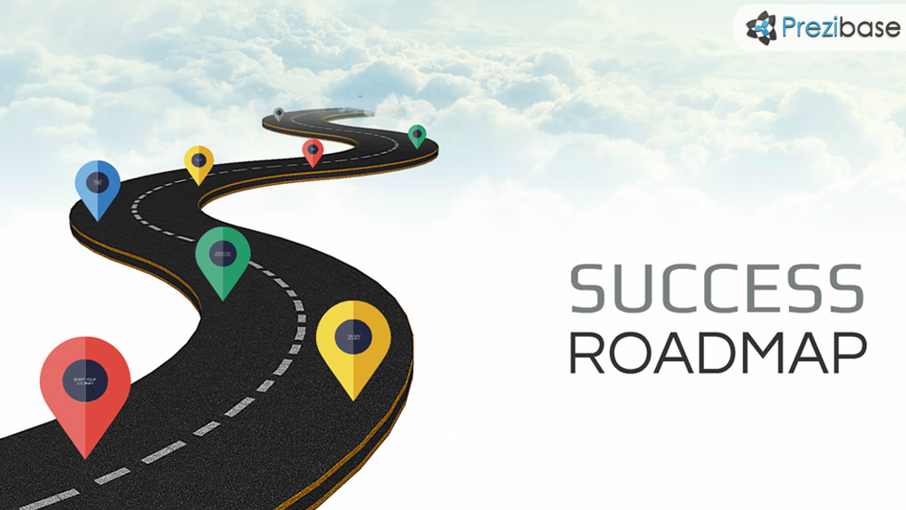 success roadmap prezi presentation template creatoz collection