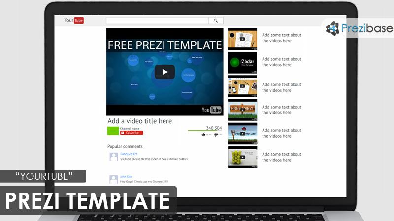 Yourtube prezi presentation template creatoz collection yourtube prezi presentation template maxwellsz