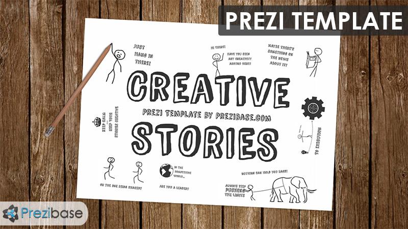 Creative Stories Prezi Presentation Template Creatoz Collection