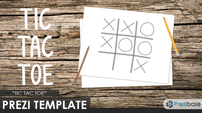 Tic Tac Toe Prezi Presentation Template Creatoz Collection