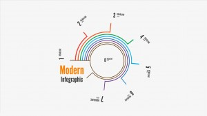 Modern Infographic report Prezi Presentation Template