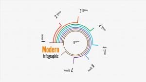 Современный инфографический отчет Prezi template