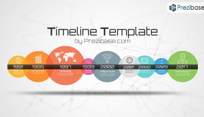 Timeline Template Prezi Presentation Template Creatoz Collection - History timeline template
