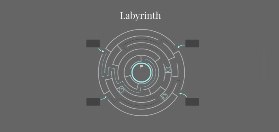 Labyrinth Free Prezi Presentation Template | | Creatoz collection