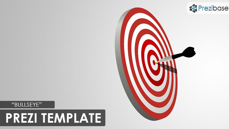 bullseye prezi presentation template creatoz collection