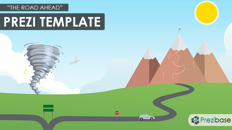 the road ahead prezi presentation template