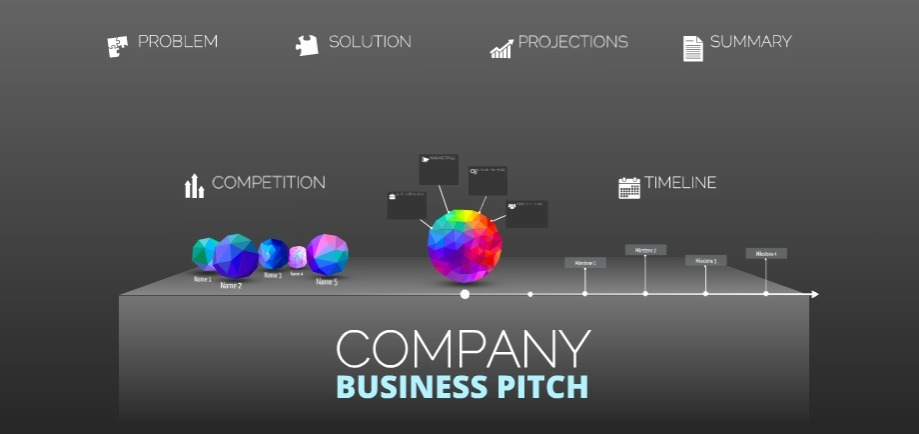 business pitch presentation example
