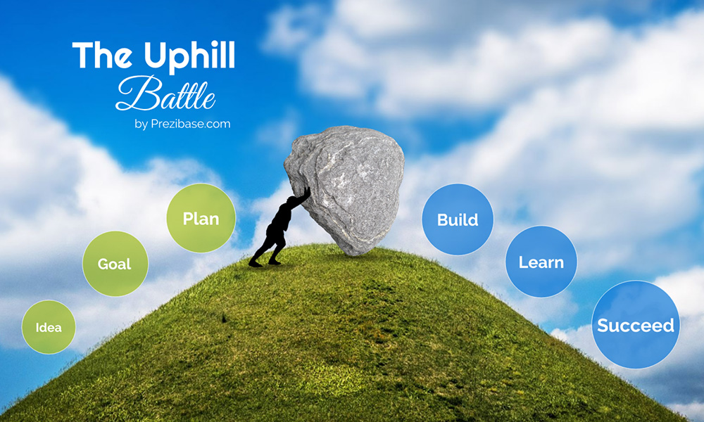 uphill battle prezi next presentation template creatoz collection