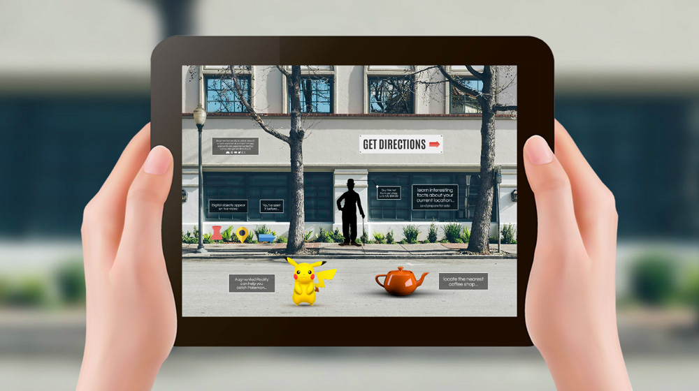 Augmented Reality Prezi Presentation Template Creatoz Collection