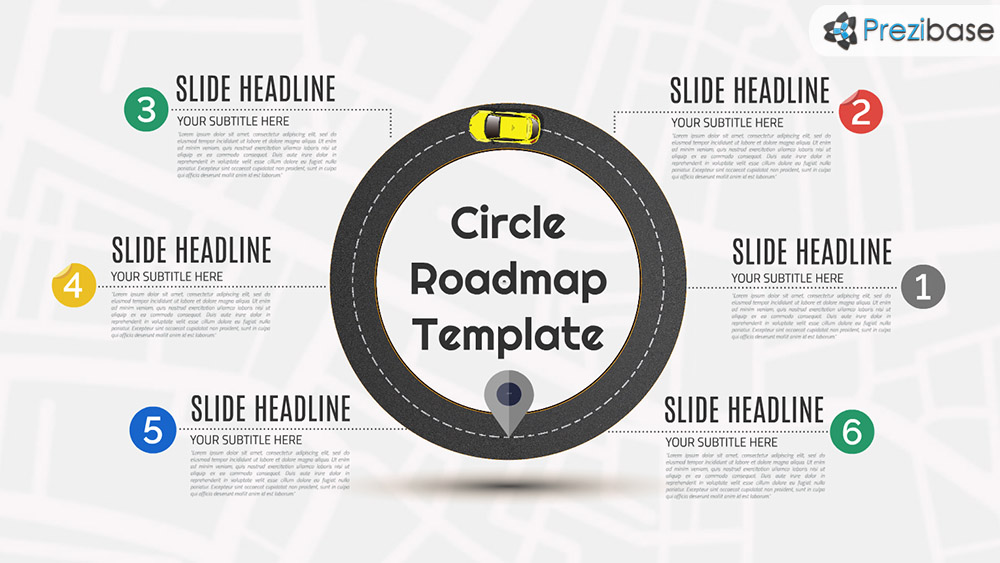 circle roadmap prezi presentation template creatoz collection