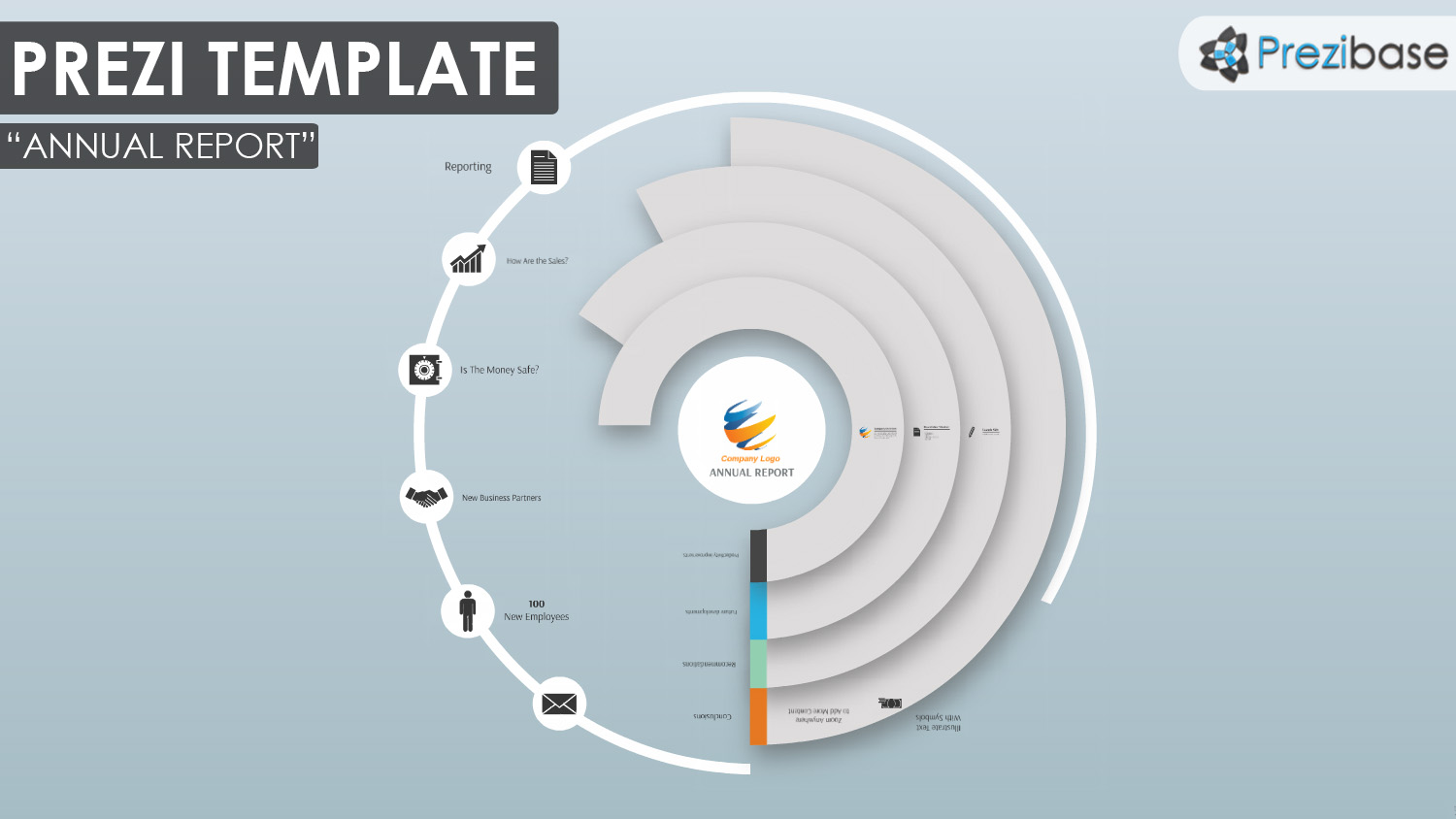 annual report prezi presentation template creatoz collection