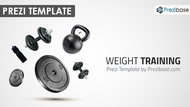 Weight Training Prezi Presentation Template