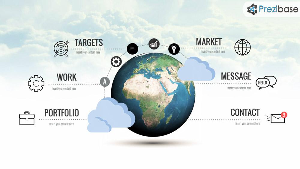 World Topic Prezi Presentation Template