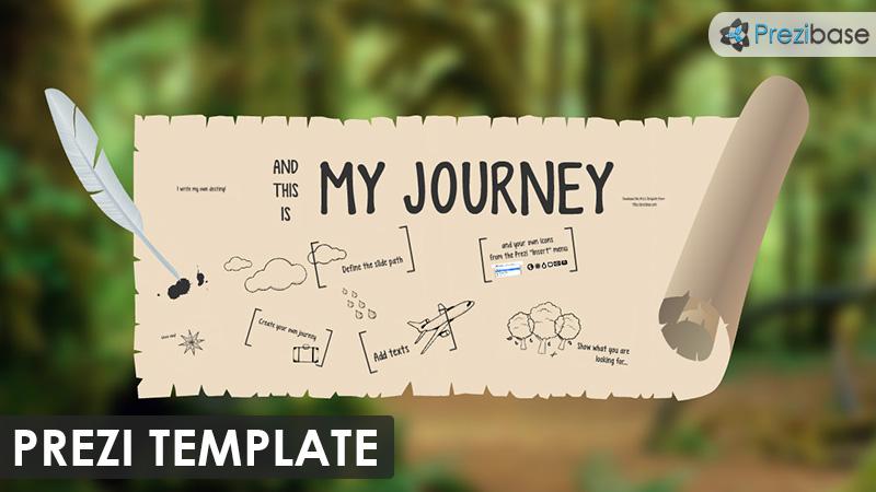 my journey  u2013 prezi presentation template