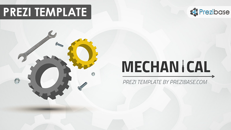 mechanical prezi presentation template creatoz collection