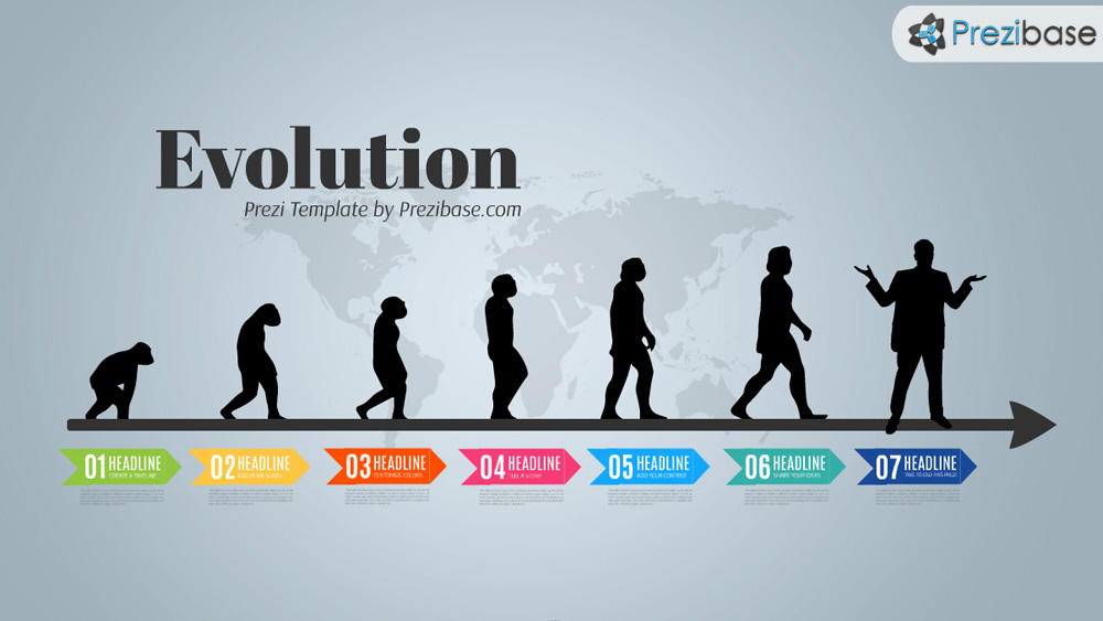 Evolution prezi presentation template creatoz collection evolution prezi presentation template toneelgroepblik Image collections