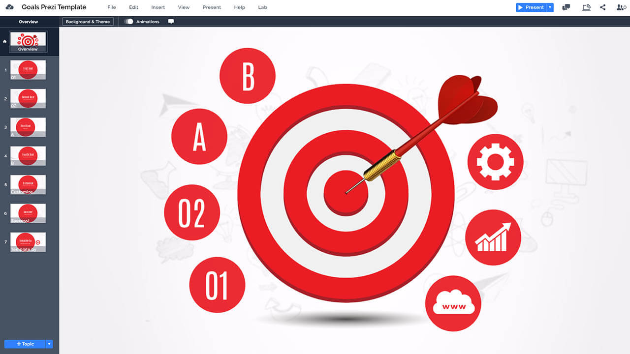 goals-and-targets-3d-bullseye-dartboard-symbol-prezi-presentation-template