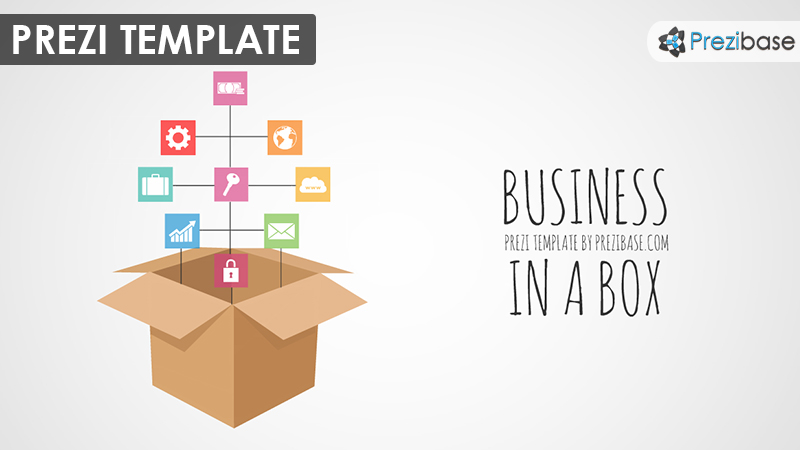 Business in a box prezi presentation template creatoz collection business in a box prezi presentation template accmission