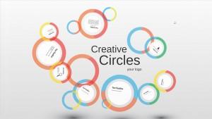 Creative circles Prezi Presentation Template