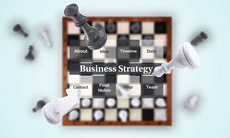 Business Strategy Prezi Presentation Template