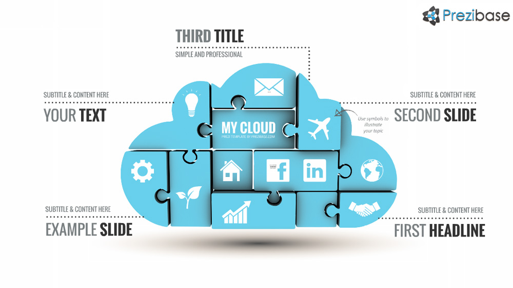 my cloud – prezi presentation template | | creatoz collection