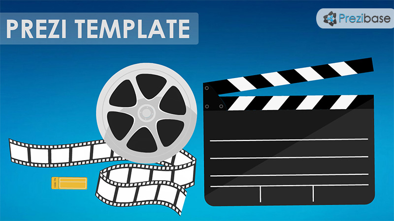 cinema prezi presentation template creatoz collection