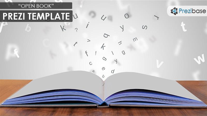 Open Book Prezi Presentation Template